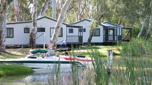 Cohuna Waterfront Holiday Park - Australia Accommodation