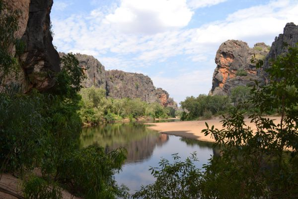 Windjana Gorge Camp at Windjana Gorge National Park - Australia Accommodation