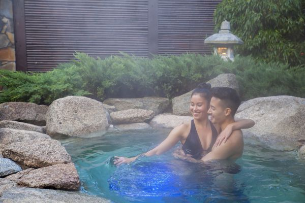 Japanese Mountain Retreat Mineral Springs  Spa - Australia Accommodation
