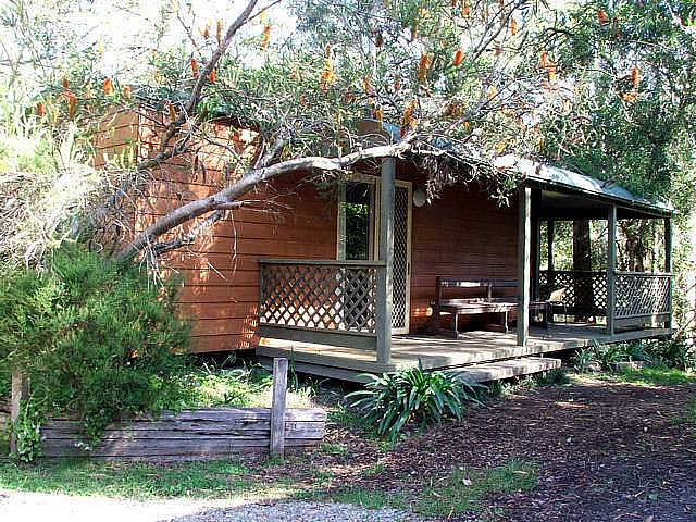 Jervis Bay Cabins  Hidden Creek Campsite - Australia Accommodation