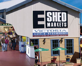 The E Shed Markets - Australia Accommodation