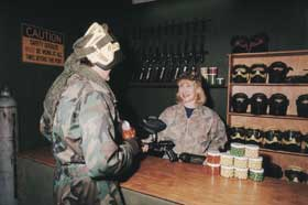 Indoor Skirmish - Paintball Sports - Australia Accommodation
