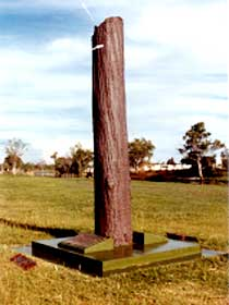 The Flood Memorial or The Stump - Australia Accommodation