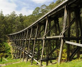 Noojee Trestle Bridge - Australia Accommodation