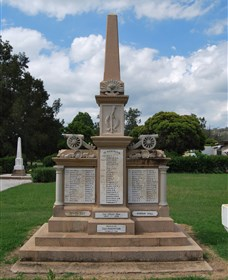 Boer War Memorial and Park Allora - Australia Accommodation