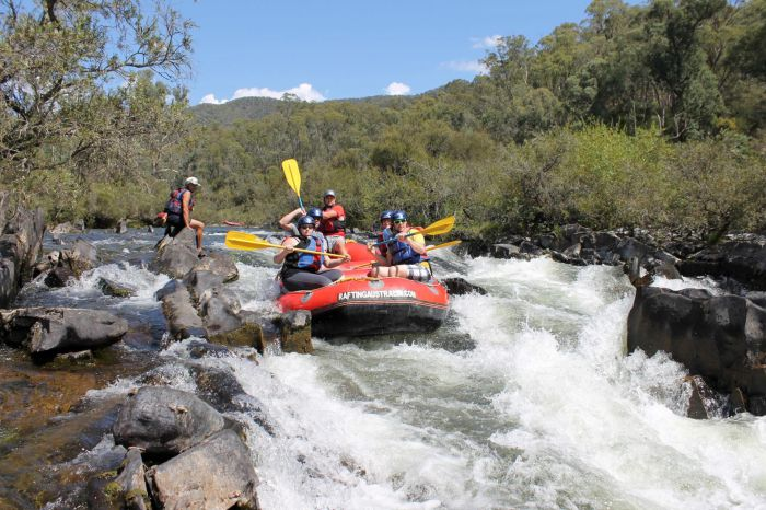 Rafting Australia - Australia Accommodation