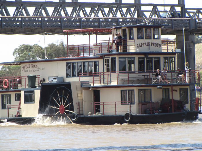 Captain Proud Paddleboat Cruises - Australia Accommodation