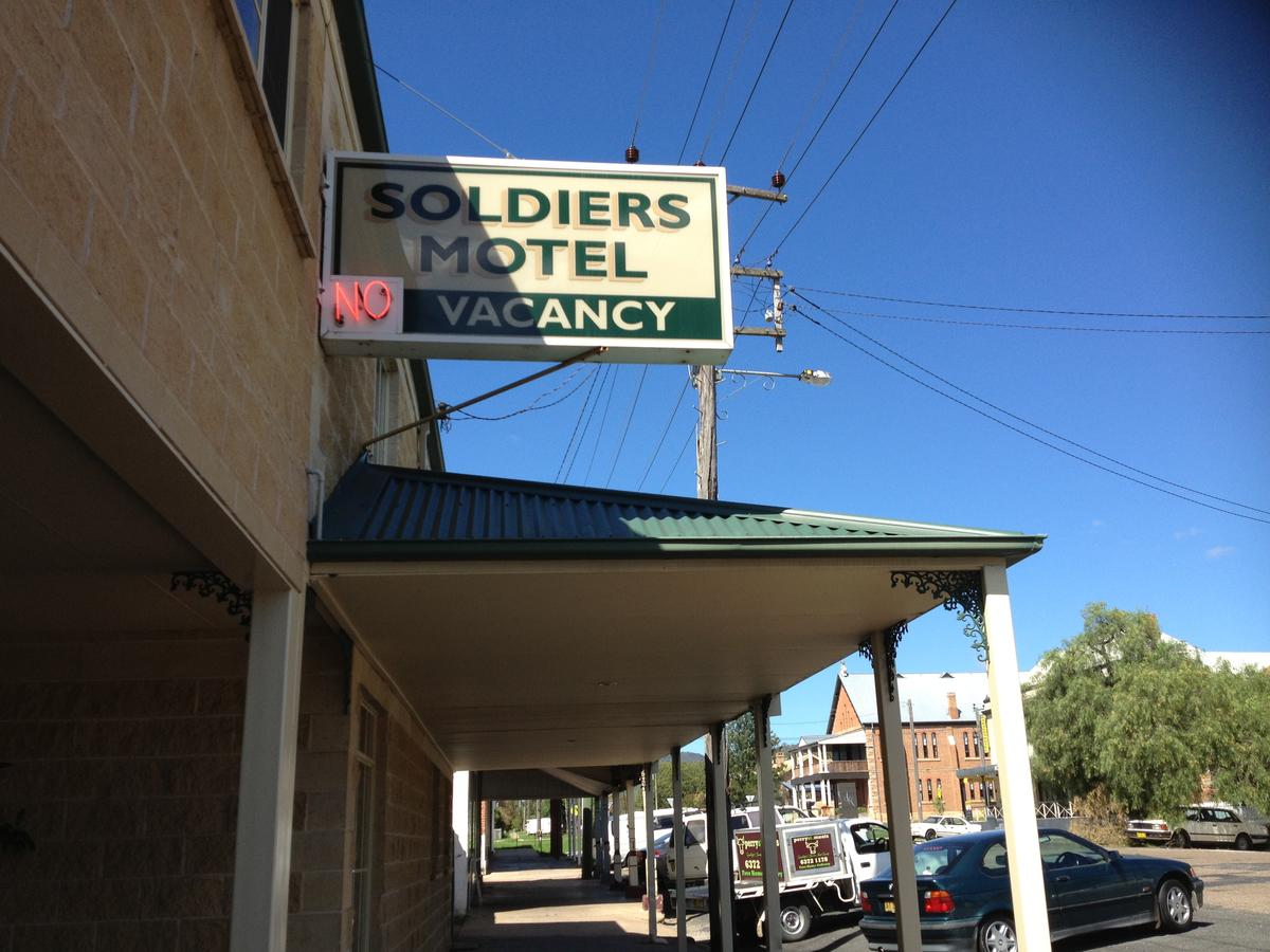 Soldiers Motel - Australia Accommodation